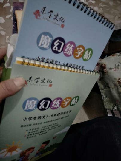 儿童练字帖 小学生1-6年级教学钢笔硬笔正楷字帖 可反复使用 楷书凹槽练字帖 晒单图