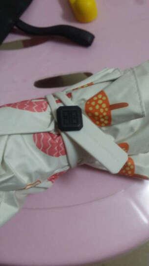 蕉下(BANANA UMBRELLA)Air系列三折折叠伞 防晒紫外线太阳遮阳伞 朵汀白 晒单图