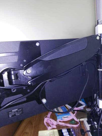 长臂猿(Gibbon Mounts) 液晶电视机挂架通用32/65寸电视架支架乐视三星 ST97-11-02(带机顶盒架) 黑色 晒单图