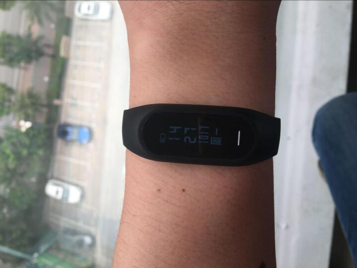 博之轮(BOZLUN)智能手环华为小米通用男女运动防水手表心率血压监测 计步器来电提醒腕带 白色光学心率血压版 晒单图