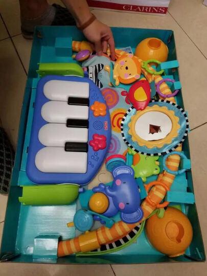 费雪牌(Fisher-Price)婴儿玩具脚踏钢琴宝宝0-1岁音乐健身架W2621 w2621+费雪粉色海马 其他 晒单图