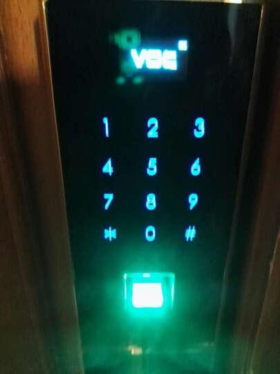 VOC 【童锁】【专利防猫眼开启】瑞典VOC指纹锁电子锁防盗门智能门锁刷卡密码锁V177 甲级门升级霸王锁体 晒单图