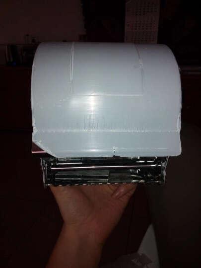 盾盛 K8系列圆形不锈钢厕纸盒纸巾盒 防水免打孔 通用卷纸盒厕纸盒 盾盛  20cm 亮光(304加厚) 晒单图