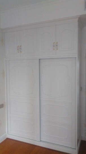 鑫诺伟天(XINNUOWEITIAN)  全屋定制卧室整体衣柜 欧式模压衣帽间定做 晒单图