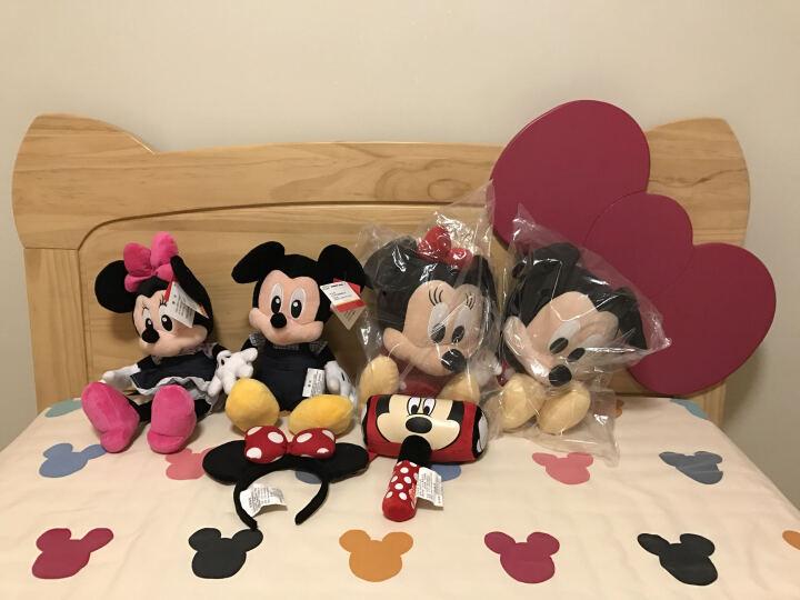 迪士尼Disney 米奇连帽U型枕 带帽颈枕护颈枕 毛绒玩具 办公室必备旅行神器 晒单图