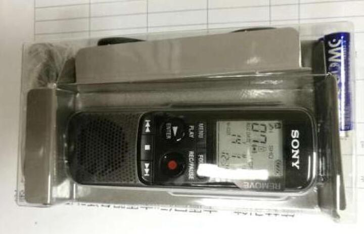 索尼(SONY)ICD-PX240 录音笔 专业录音棒 降噪微型会议录音笔 取证录音笔 黑色 晒单图