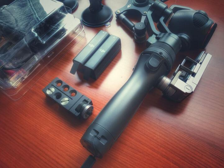 大疆(DJI) 大疆osmo+手持云台相机配件 车载支架 晒单图