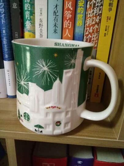 星巴克(Starbucks)2019新款樱花季咖啡杯 不锈钢保温杯 陶瓷马克杯 萌猫粉樱款双层玻璃杯8oz 晒单图