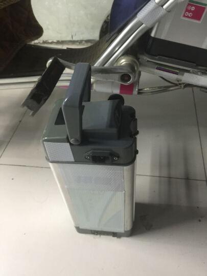 【天能电池】天能电动车电池三元锂锂电池海霸48V12AH A款银色高度235mm/莲花头/三竖母座 晒单图