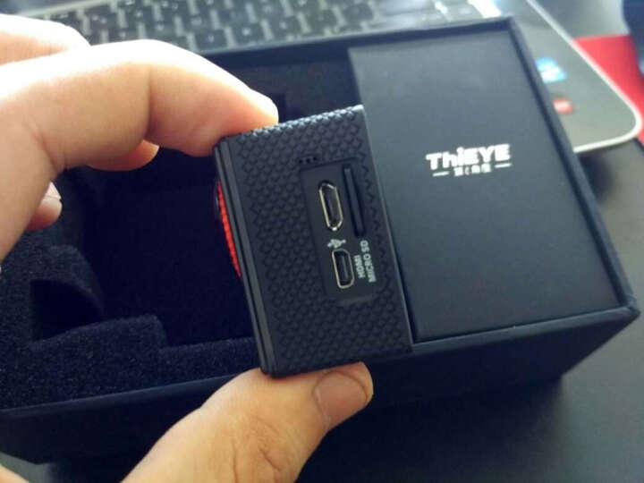 ThiEYE/第i角度 高清运动摄像机/运动相机,内置WiFi 行车记录 拍照 摄影 i60+ 4K黑色 官方标配加胸带夹 晒单图