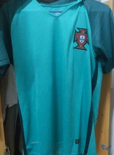 简酷龙足球服套装 欧洲杯球衣 国家队球员版短袖足球队服 足球训练服定制 18-19上港主 L(建议身高160-170cm) 晒单图