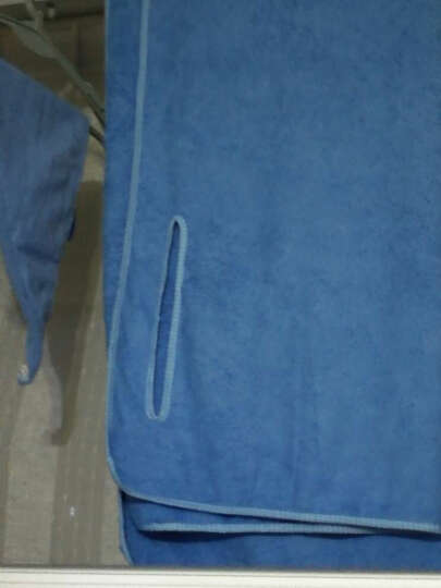 名佑 浴巾 百变浴巾 可穿浴巾 强吸水百变魔术浴袍 多款选择  男女通用款 新款绿色蝴蝶结(带口袋) W 晒单图