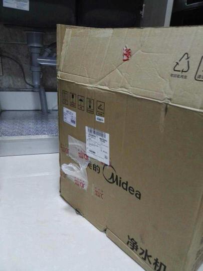 美的(Midea)家用净水器 直饮机 3年长寿滤芯200G双RO膜1:1低废水无桶大通量净水机MRO201-4(豪华型) 晒单图