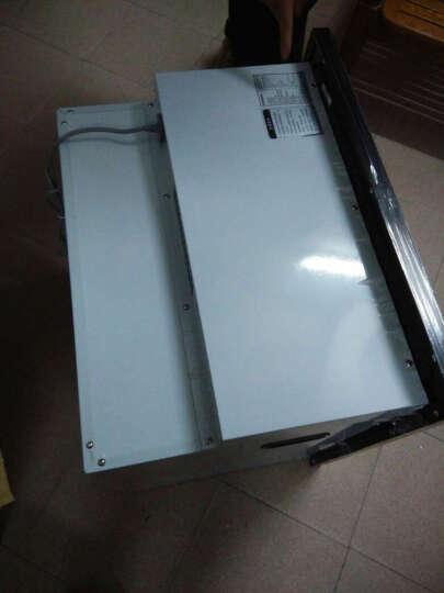 欧尼尔(OUNIER) 消毒柜消毒碗柜嵌入式内嵌大容量高温低温家用臭氧紫外线厨房茶具X8 黑色低温 晒单图