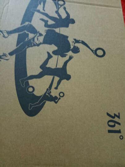 361度 男鞋子运动鞋男秋冬季 皮面冬款跑步鞋.复古网面慢跑鞋旅游鞋 网面款-中灰色 41 晒单图