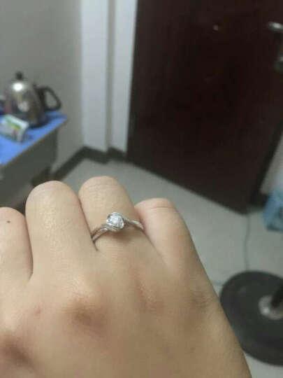 佐卡伊 邂逅 钻戒钻石结婚女戒求婚戒指可裸钻定制 70分效果D-E/SI 定制 晒单图
