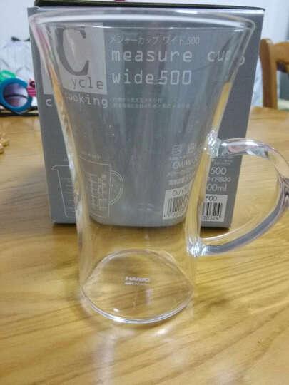 HARIO-日本原装进口玻璃杯 耐热杯茶水杯啤酒杯 瘦身阔口 HGT系列玻璃杯 240ml 晒单图