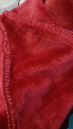 北极绒保暖内衣 男女士套装 加绒加厚 厚款秋衣秋裤 情侣保暖内衣套装 (德绒)男款黑灰V领 男款180/105(XL) 晒单图