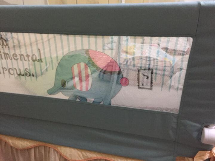 兔贝乐(rabbitbel) 婴儿童床围 欧式防摔床护栏1.8米床挡板防掉床宝宝通用护栏 卡其色钢琴熊 2米 晒单图