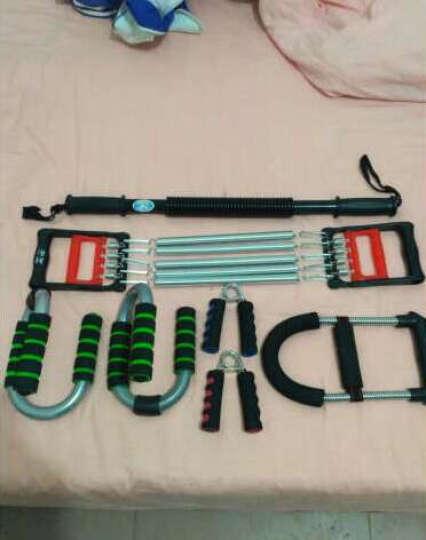 YUETU家用健身器材 健腹轮套装 臂力器 拉力器 握力器 俯卧撑支架 腹肌轮男女通用 六件套 臂力器60KG 晒单图