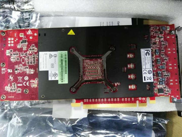 专业显卡 AMD 原厂盒装 Firepro W7100/8G/256b 4屏幕 晒单图