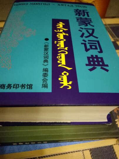 新蒙汉词典 新蒙汉词典编委会编 英语与其他外语辞典与工具书 书籍 晒单图