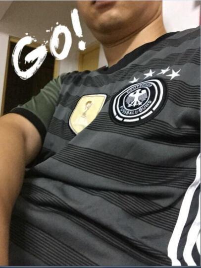德国国家队欧洲杯主场球衣13号穆勒7号小猪足球服套装球迷版队服 客场19号+裤子 S/L=165-170CM 晒单图