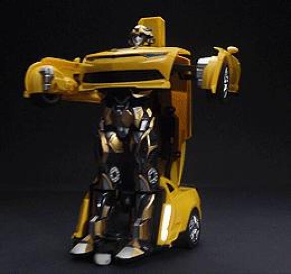 JIAQI 佳奇 遥控车遥控汽车越野赛车跑车儿童玩具车儿童礼物变形机器人 笑藏刀(语音版) 晒单图
