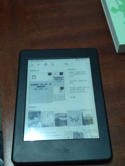 Kindle Paperwhite 全新升级版6英寸 电子书阅读器 黑色【悦色系列保护套套装】 晒单图