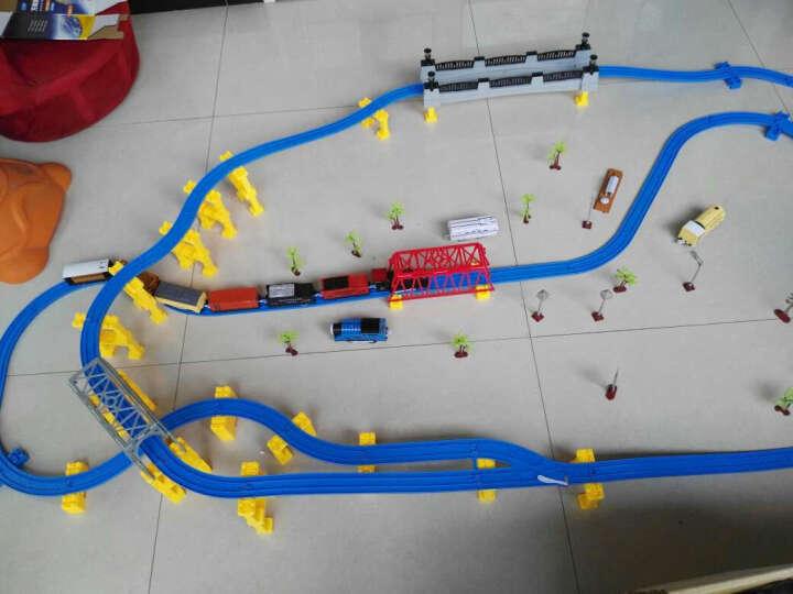 越诚托马斯小火车轨道火车玩具音乐套装 138件装-4车头8车厢 晒单图