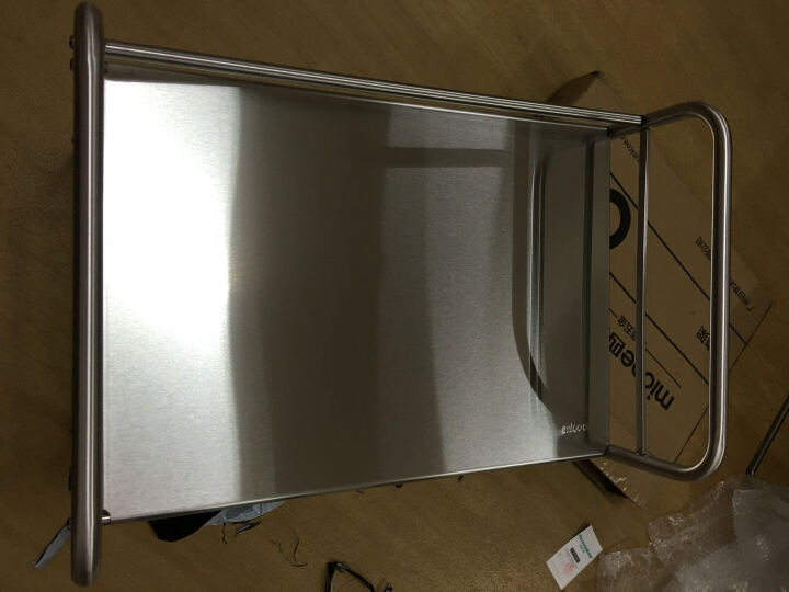 四季沐歌(MICOE) 微波炉架子不锈钢厨房置物架收纳架厨房用品烤箱架 四层50cm长 晒单图