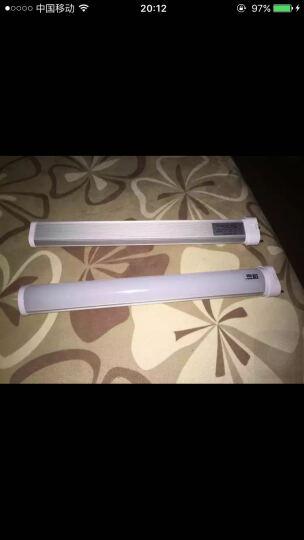 【鲁格】LED灯管h管平四4针H型节能灯管改造led光源横插灯管2g11 15瓦41.7厘米白光透明罩 晒单图