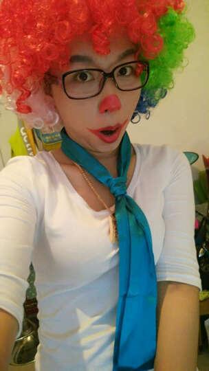 小丑装备cosplay小丑服配件配饰小丑面具 鼻子小丑假发小丑背包鞋 发光鼻子眼镜 晒单图