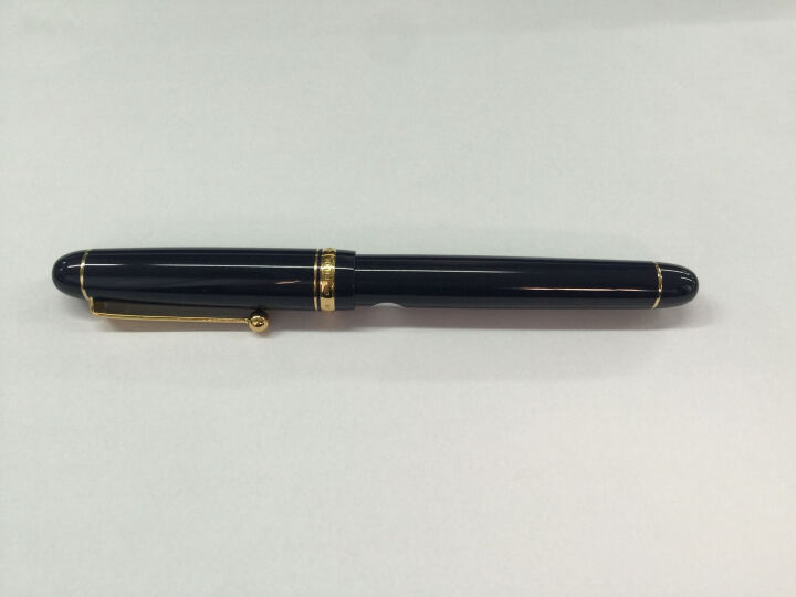 百乐(PILOT) 顺丰 日本 custom 经典74 14K金 钢笔 墨水笔 深蓝色 M尖 晒单图