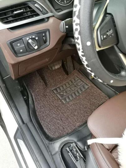 代安 汽车脚垫 丝圈脚垫 环保耐磨加厚 专车专用脚垫 配套订制汽车地毯 丝圈脚垫=主驾驶+副驾驶+后排 --七色可选 宝马X1X3X5新5系3系 525li320li 晒单图