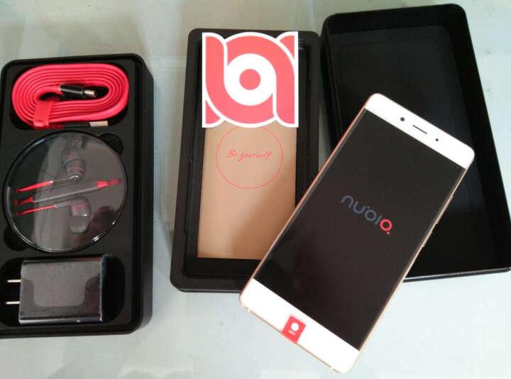努比亚(nubia)Z11 百合金 4GB+64GB 全网通 移动联通电信4G手机双卡双待 晒单图