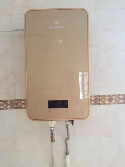 沐克(MOKER) 沐克热水器 电热水器16升浴缸供水全自动智能恒温 A8/16L/7KW/金色 晒单图