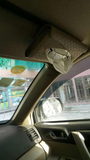 搜酷 汽车车上用品超市 车用纸巾盒挂式 车载抽纸盒 遮阳板天窗创意内饰 功能小件配件 金色卡装纸巾盒 椭 晒单图