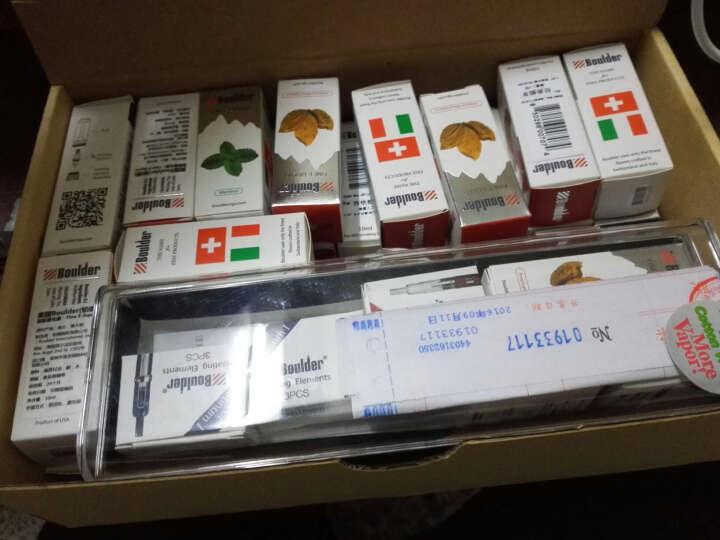 Boulder铂德1号 铂德原装雾化芯 电子烟雾化芯配件套装 铂德1号雾化芯一盒(三个) 3盒装 晒单图