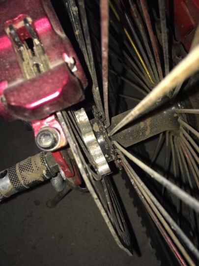 安捷王(Angwan)  自行车碟刹转换座44mm 48mm刹车盘铝合金转换座碟刹花鼓 44mm 晒单图