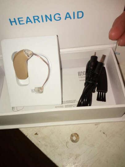 【送⑥重好礼】哈斯福 助听器老年人 充电型耳背式无线隐形 晒单图