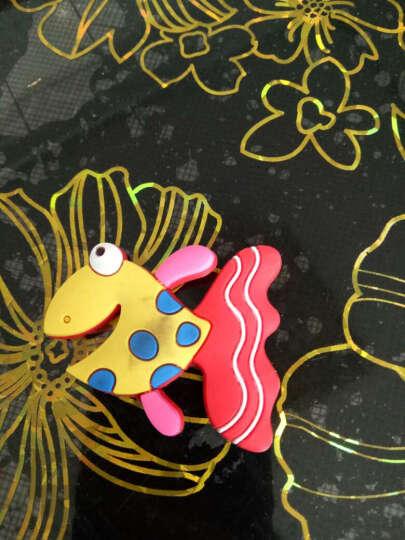 喜艾林 软胶硅胶卡通3d彩色小动物磁力装饰品 立体迷你墙贴 磁性冰箱贴 冰淇淋 晒单图