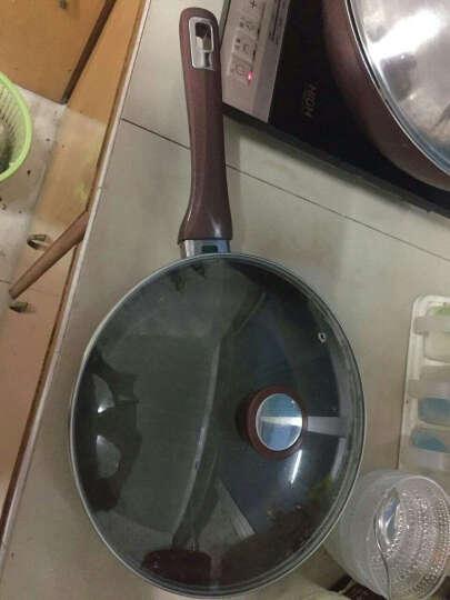 爱仕达(ASD)煎锅平底锅不粘锅油你控煎盘 26cm 酒红 JL26A1WG 电磁炉煤气灶通用 晒单图