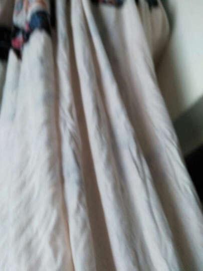 维秋 全棉磨毛四件套纯棉加厚保暖大红结婚庆床上用品套件 米兰达 1.8米床(适合被芯200*230) 晒单图