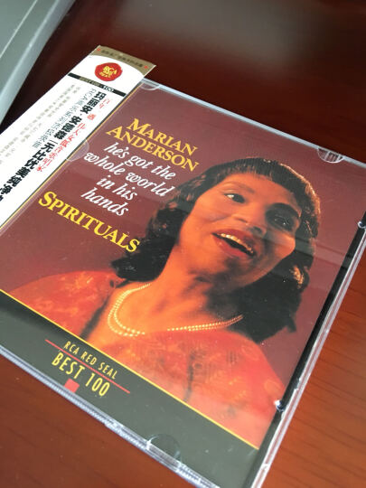 RCA BEST100-100玛丽安.安德森 优美纯净的歌声(CD) 晒单图