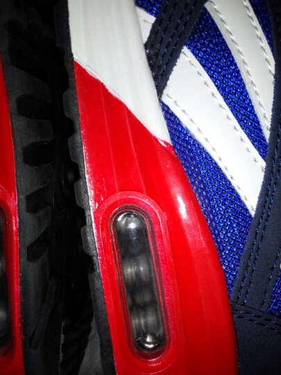 瑞士MATEHOM跑步鞋休闲鞋 男士新款气垫缓震透气舒适耐磨运动鞋男鞋 M377-深灰 41 晒单图