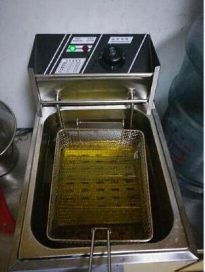 三缸商用燃气关东煮机器 多功能电炸炉油炸锅电炸锅小吃设备 电炸炉/单缸单筛 晒单图