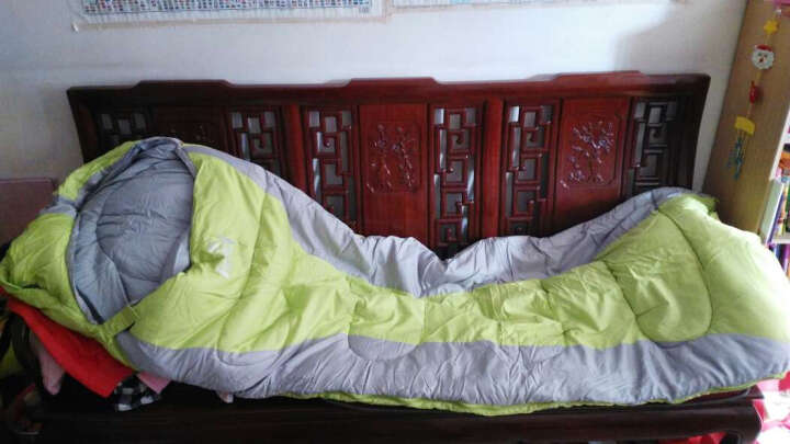 户外睡袋成人秋冬季保暖旅行帐篷露营睡袋 室内午休 菠萝2.2kg+内胆 晒单图