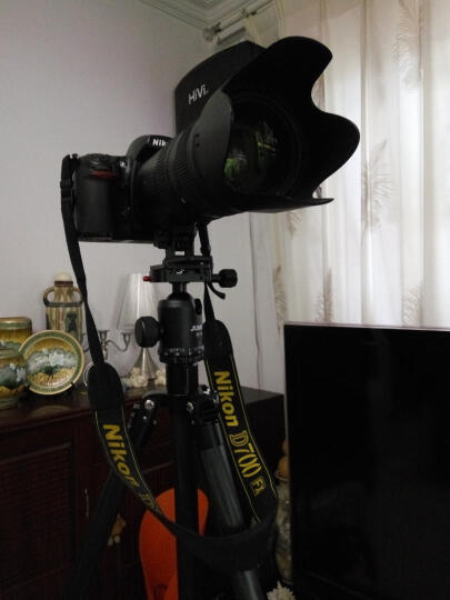 佳鑫悦(JUSINO)三脚架 JV-254C+JS-36 碳纤维专业脚架 云台快装板套装 通用专业单反 摄像机 晒单图