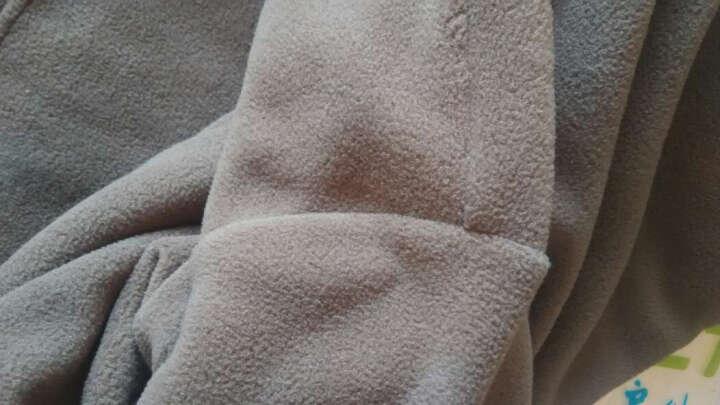 Tectop 两件打折探拓户外抓绒衣男女半开衫大码摇粒绒冲锋衣内胆儿童抓绒服保暖运动卫衣 紫色-女成人 成人XL/儿童140两件减10元 晒单图